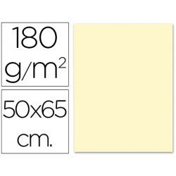 Cartulina Liderpapel color crema 180 g/m2