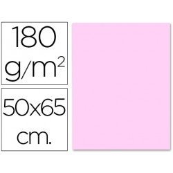 Cartulina Liderpapel color rosa 180 g/m2