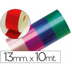 Cinta fantasia color rojo 13 mm