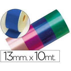 Cinta fantasia color azul 13 mm