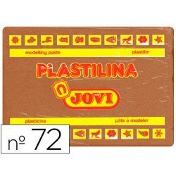 Plastilina Jovi color marron grande