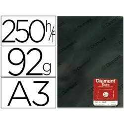 Papel vegetal Diamant A3 92g/m2 formato hoja