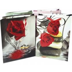 Bolsa para regalo Mediana Rosas Arguval
