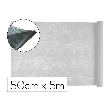 Entretela Liderpapel 25 g/m2 Rollo de 5m Blanco
