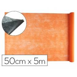 Entretela Liderpapel 25g/m2 rollo de 5m Naranja