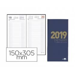 DIETARIO LIDERPAPEL 15X30,5CM 2019 DOS TERCIOS