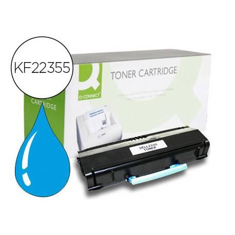 Toner Q-CONNECT color cian KF22355