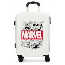 Maleta de cabina rígida Comic Marvel Beige 55x40x20cm