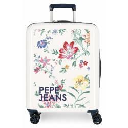 Maleta de cabina Pepe Jeans Leven rígida Maze 55x40x20cm