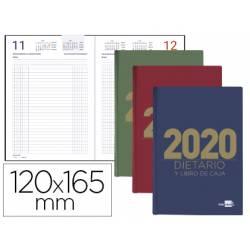 DIETARIO LIDERPAPEL 12X16,5 CM 2020 OCTAVO PAPEL 70 GR