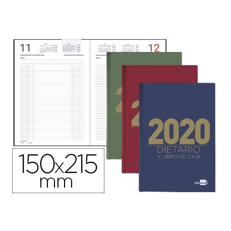 Tapa Dura Negro Agenda 2020 Dia Por Pagina 12 Meses Espa/ñol Tama/ño A5 15x21 cm