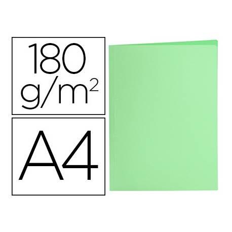 Subcarpeta de cartulina Liderpapel Din A4 Verde pastel 180g/m2