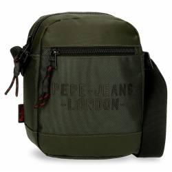 Bandolera Pepe Jeans Bromley Mediana Verde 22x17x6cm