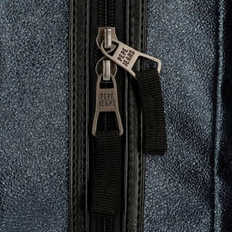 """Mochila Pepe Jeans 32x44x15 cm para portátil 15,6"""" adaptable de PU y poliéster"""
