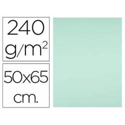Cartulina Liderpapel color verde muy claro de 240 g/m2