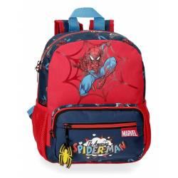Mochila 28cm Spiderman Pop (2072121)