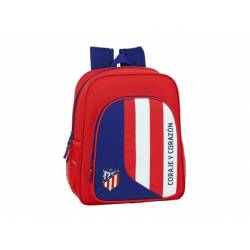 CARTERA ESCOLAR SAFTA ATCO. MADRID NEPTUNO MOCHILA JUNIOR ADAPTABLE A CARRO 320X120X380 MM