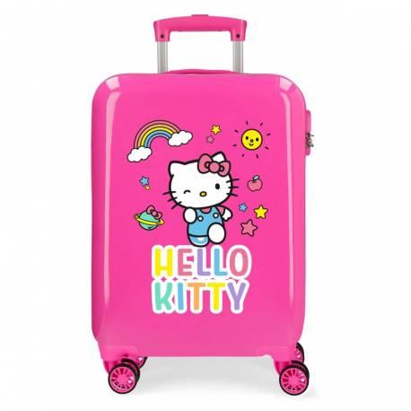 Maleta de cabina HELLO KITTY You are Cute rígida 55x37x20cm