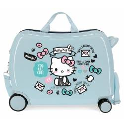 Maleta Infantil HELLO KITTY You are Cute con 2 ruedas multidireccionales