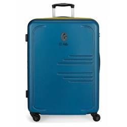 Maleta grande EL POTRO BATRÁN rígida 79x56x33cm azul marino