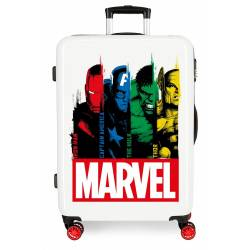 Maleta Mediana Power Marvel rígida 68cm