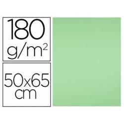 Cartulina Liderpapel color verde pistacho 50x65 cm 180 g/m2