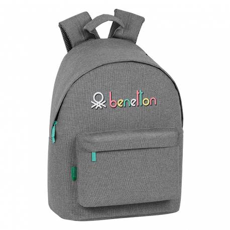 "MOCHILA ESCOLAR SAFTA BENETTON BEAUTIFUL DAY PACK ORDENADOR 14,1"" 310X160X410 MM"