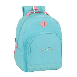 MOCHILA ESCOLAR SAFTA BENETTON CANDY MOCHILA ADAPTABLE A CARRO 320X150X420 MM