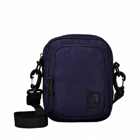 Bolso bandolera hombre color azul - Balao Totto 18x 13.5x 8.5 cm