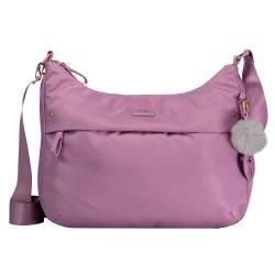 Bolso mujer rosa pastel - Ada Totto 34 x 25 x 10 cm