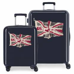 Juego de maletas Pepe Jeans FLAG rígidas 55-70 cm Azul Marino