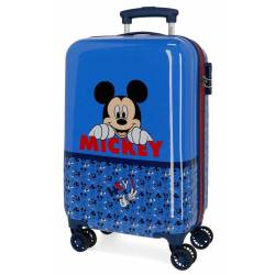 Maleta de cabina Mickey Moods rígida 55x34x20 cm