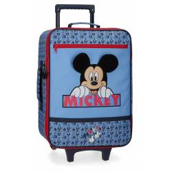 Maleta de cabina Mickey Moods 50x35x18 cm