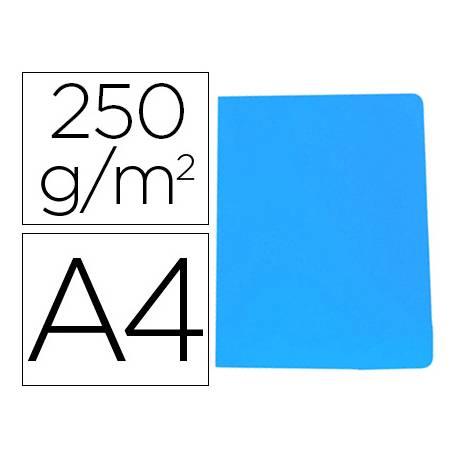 Subcarpeta Gio DIN A4 250 gr Cartulina color azul