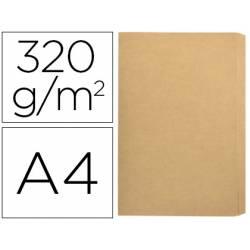Subcarpeta Gio Folio de 320 gr Kraft Bicolor con solapa