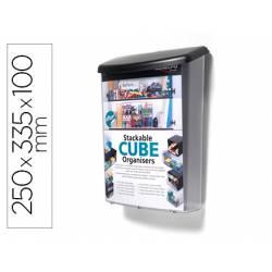 Buzon marca Deflecto para material publicitario color Transparente