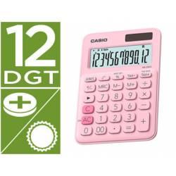 Calculadora Sobremesa Casio MS-20UC-BU 12 Digitos color Rosa