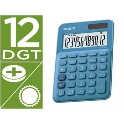 Calculadora Sobremesa Casio MS-20UC-BU 12 Digitos color Azul