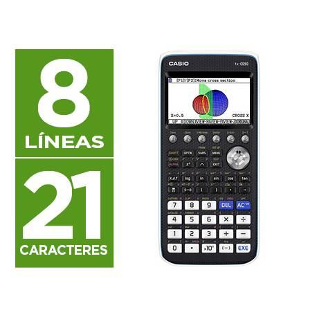 Calculadora Cientifica Casio FX- CG50 Grafica con 21 caracteres color 3D