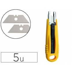 Recambio cuchilla cuter Q-Connect 18 mm Cuter KF14624