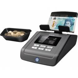 Balanza contadora de Monedas y Billetes marca Safescan 6165