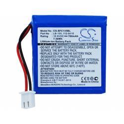 Bateria de Litio Safescan LB-105 Recargable