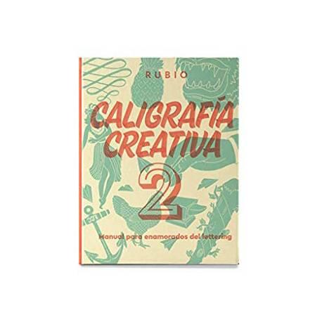 Libro Caligrafia 2 Lettering Rubio con 150 páginas 27x21 cm Tapa dura