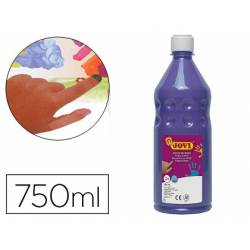 Pintura de dedos Jovi Botella 750 ml Color Violeta