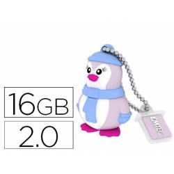 Memoria USB 16GB Pinguino EMTEC