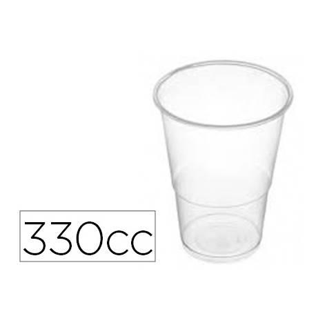 Vasos de plastico blanco 330cc