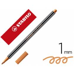 Rotulador Stabilo Acuarelable Pen 68 Color Cobre Metalico