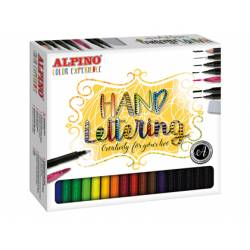 Rotulador Alpino Set de dibujo Color Experience Lettering