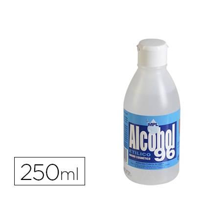 Alcohol Etilico MPL Bote 250 ml 96 g