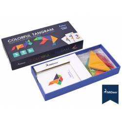 Juego didactico Midder tangram colores